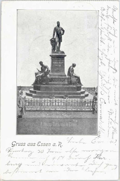 Essen Krupp Denkmal  x