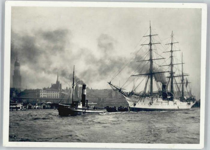 Hamburg Norwegisches Schulschiff *