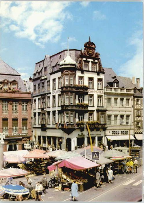 Trier Trier Dom Hotel Hauptmarkt * / Trier /Trier Stadtkreis