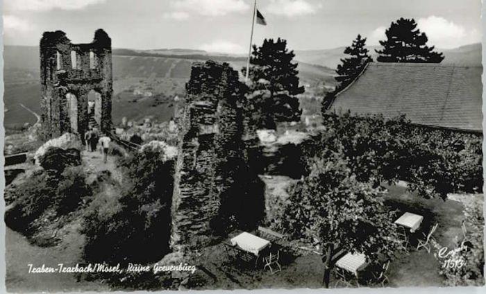 Traben-Trarbach Traben-Trarbach Ruine Reunenburg * / Traben-Trarbach /Bernkastel-Wittlich LKR