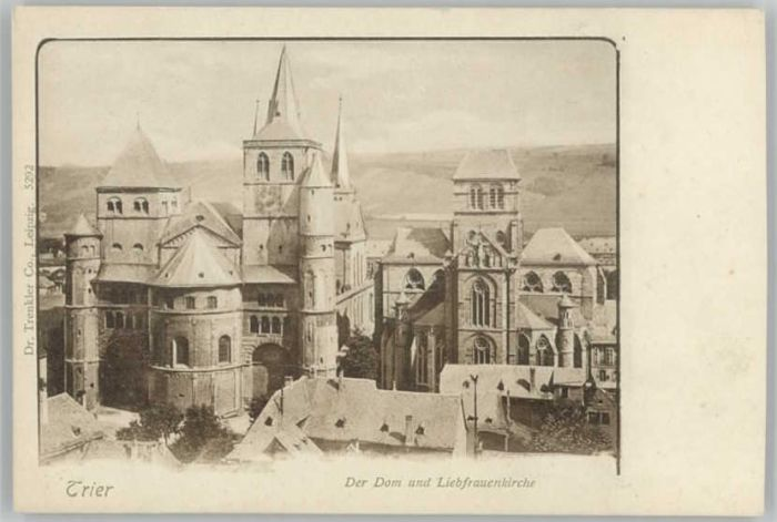 Trier Trier Dom Liebfrauenkirche * / Trier /Trier Stadtkreis