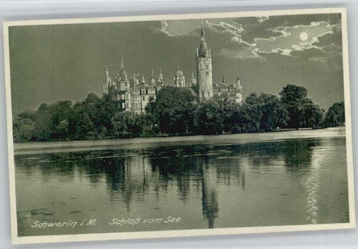Schwerin Mecklenburg Schwerin Schloss * / Schwerin /Schwerin Stadtkreis