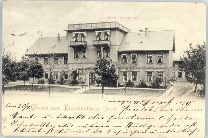Blankenburg Harz Hotel Heidelberg x