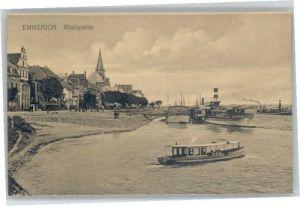 Emmerich Rhein Emmerich Dampfer * / Emmerich am Rhein /Kleve LKR