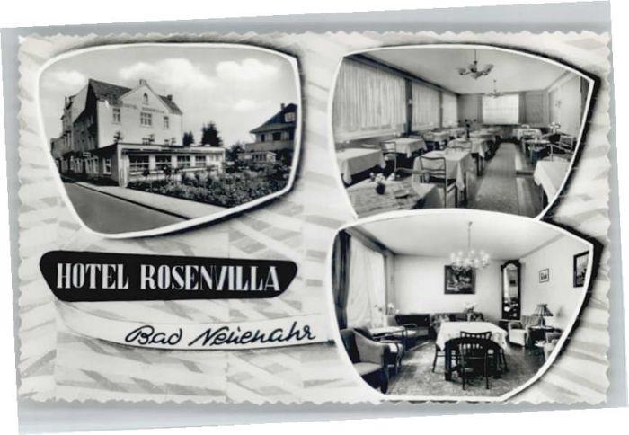 we67666 Bad Neuenahr-Ahrweiler Bad Neuenahr Hotel Rosenvilla * Kategorie. Bad Neuenahr-Ahrweiler Alte Ansichtskarten