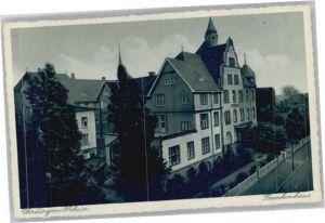 we68190 Uerdingen Uerdingen Krankenhaus * Kategorie. Krefeld Alte Ansichtskarten