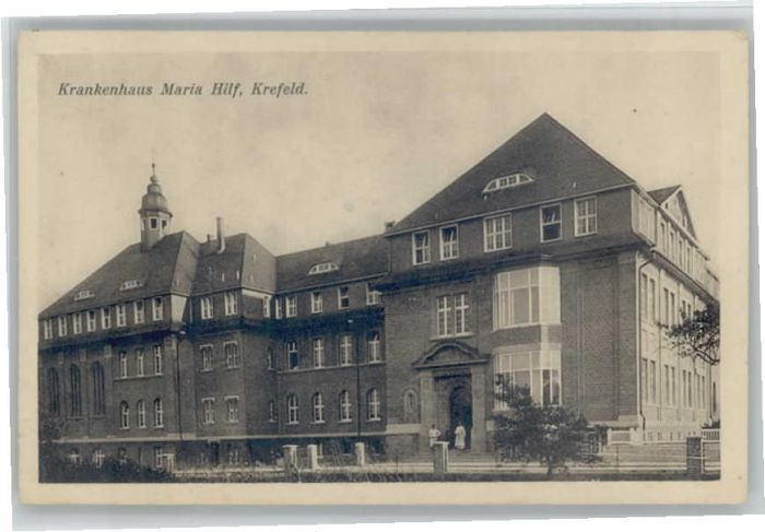 Krefeld Krankenhaus Maria Hilf Nr We68265 Oldthing