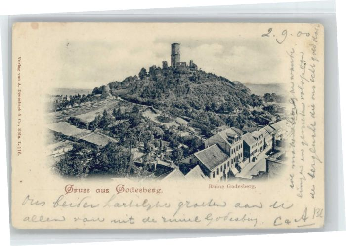Bad Godesberg Ruine Godesberg x