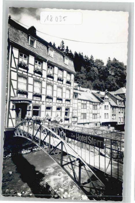 Monschau Hotel Stern *