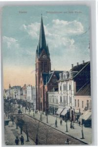 Herne Westfalen Herne Bahnhofstrasse Kirche x / Herne /Herne Stadtkreis