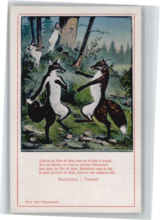 Koenigstein Taunus Fuchstanz Fuchs Gedicht *