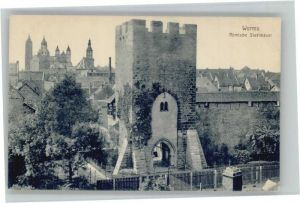 Worms Roemische Stadtmauer *