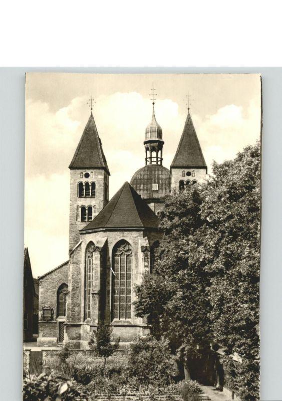 Muenster Westfalen St Mauritz Kirche  / Muenster /Muenster Stadtkreis
