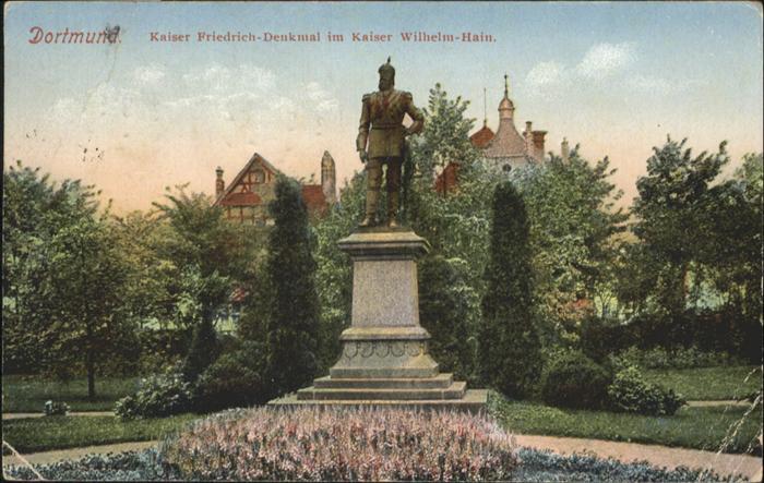 Dortmund Kaiser-Friedrich-Denkmal / Dortmund /Dortmund Stadtkreis