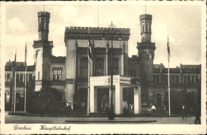 Breslau Niederschlesien Hauptbahnhof  / Wroclaw /