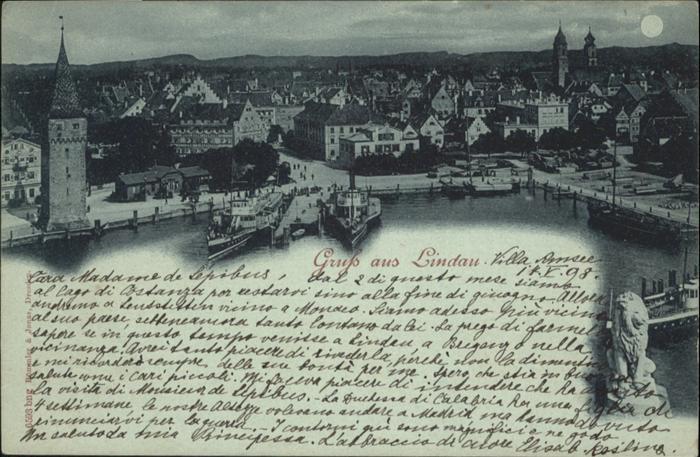 Lindau Bodensee Hafen  / Lindau (Bodensee) /Lindau LKR