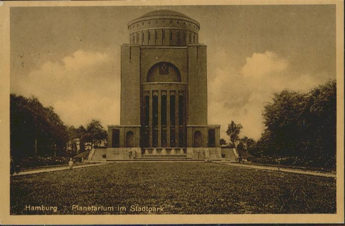 Hamburg Planetarium Stadtpark / Hamburg /Hamburg Stadtkreis