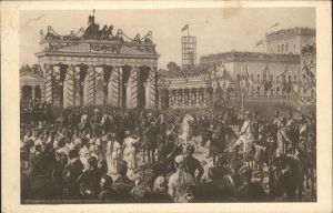 Berlin Einzug der Truppen / Berlin /Berlin Stadtkreis