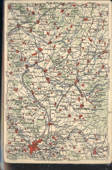 Bayreuth Strassen Karte  / Bayreuth /Bayreuth LKR