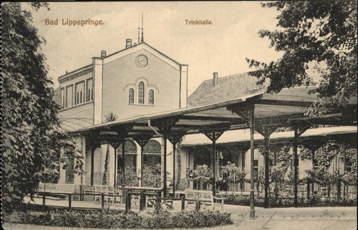 Bad Lippspringe Trinkhalle / Bad Lippspringe /Paderborn LKR