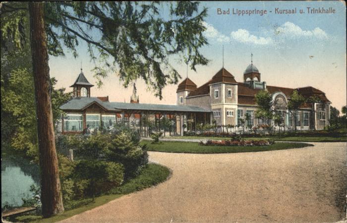Bad Lippspringe Kursaal Trinkhalle / Bad Lippspringe /Paderborn LKR