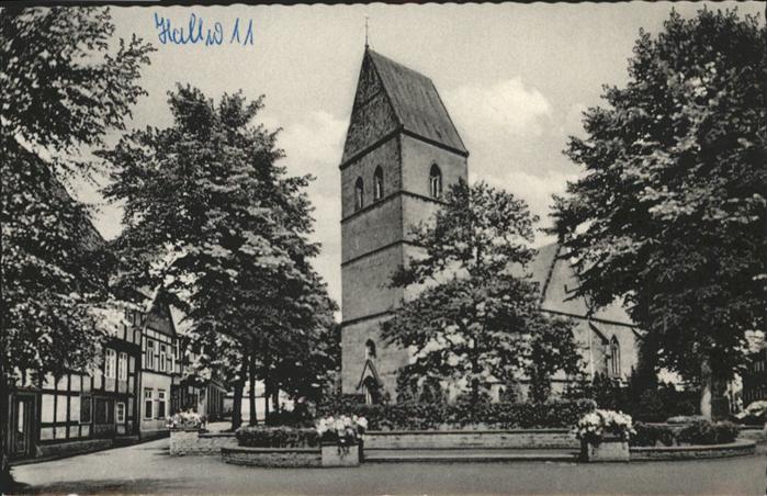 Halle Westfalen Evang. Kirche / Halle (Westf.) /Guetersloh LKR
