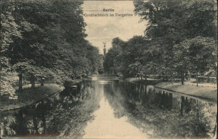 Berlin Goldfischteich Tiergarten / Berlin /Berlin Stadtkreis