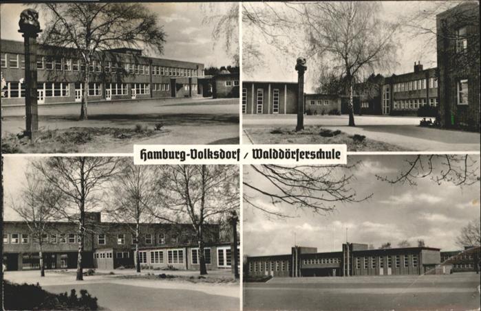 ak ansichtskarte volksdorf hamburg evangelisches amalie sieveking krankenhaus kat hamburg nr. Black Bedroom Furniture Sets. Home Design Ideas