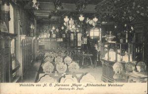 Hamburg Weinhuette H.g. Hermann Meyer St. Pauli / Hamburg /Hamburg Stadtkreis
