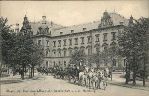 Hamburg Wagen Hammonia-Rundfahrt-Gesellschaft / Hamburg /Hamburg Stadtkreis