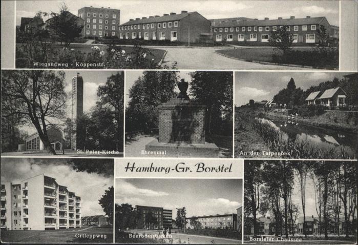Hamburg Gr. Borstel Borsteler Chaussee St. Peter-Kirche / Hamburg /Hamburg Stadtkreis