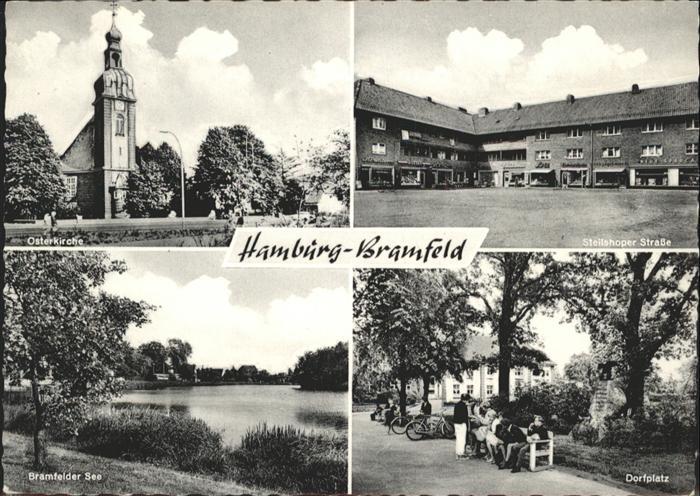 Ak Hamburg Wandsbek Bramfeld Dorfplatz Hohnerkamp