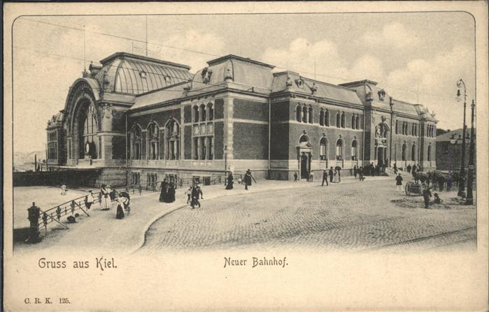 Kiel Bahnhof Kutsche / Kiel /Kiel Stadtkreis
