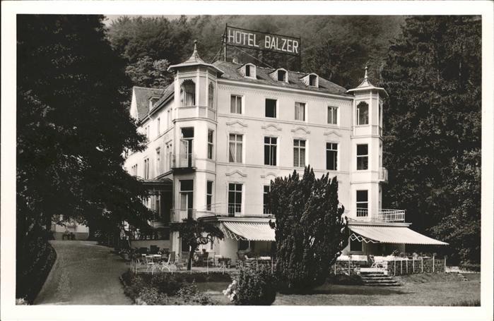 Bad Ems Kurhotel Balzer / Bad Ems /Rhein-Lahn-Kreis LKR