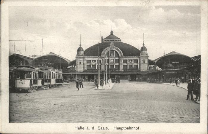 Halle Saale Hauptbahnhof Strassenbahn / Halle /Halle Saale Stadtkreis