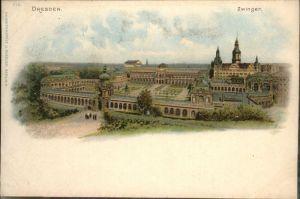 Dresden Zwinger / Dresden Elbe /Dresden Stadtkreis