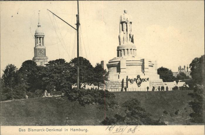 Hamburg Bismarck-Denkmal / Hamburg /Hamburg Stadtkreis