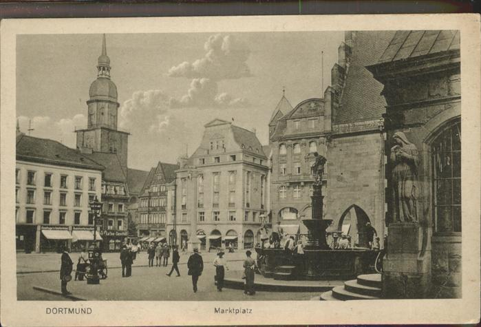 Dortmund Marktplatz / Dortmund /Dortmund Stadtkreis