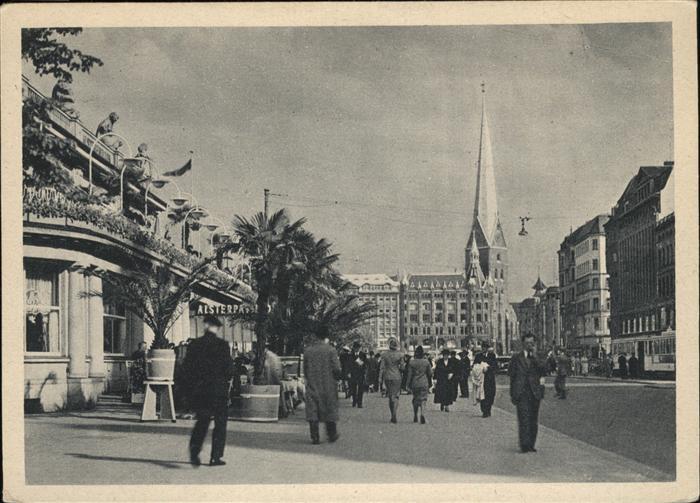 Hamburg Jungfernstieg / Hamburg /Hamburg Stadtkreis