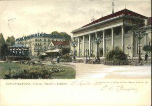 Baden-Baden Conversations Haus / Baden-Baden /Baden-Baden Stadtkreis