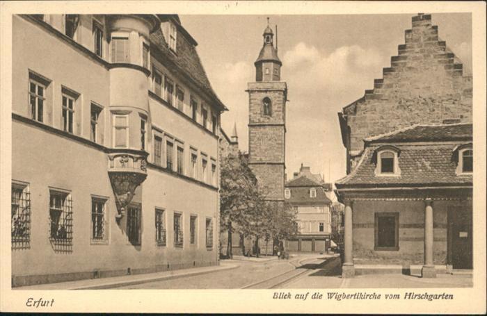 Erfurt Wigbertikirche Hirschgarten / Erfurt /Erfurt Stadtkreis