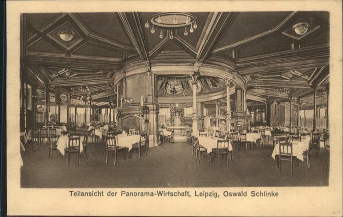 Leipzig Panoramawirtschaft Oswald Schlinke / Leipzig /Leipzig Stadtkreis
