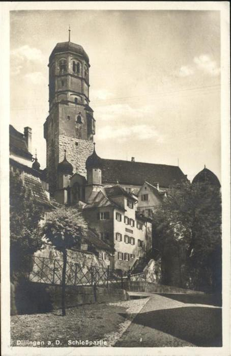 Dillingen Donau Schloss / Dillingen a.d.Donau /Dillingen Donau LKR