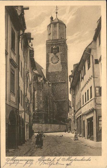 Memmingen Martins Kirche  / Memmingen /Memmingen Stadtkreis