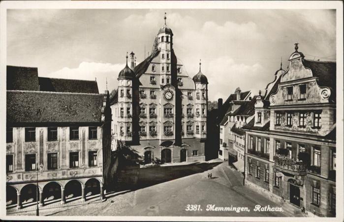 Memmingen Rathaus / Memmingen /Memmingen Stadtkreis