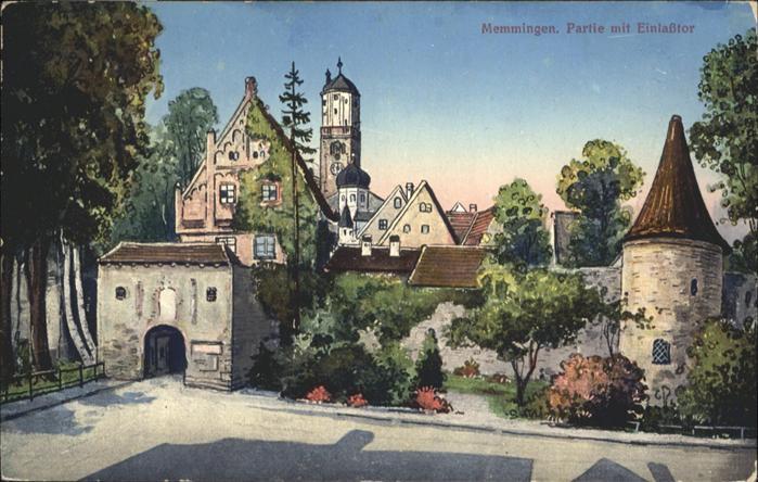 Memmingen Einlasstor / Memmingen /Memmingen Stadtkreis