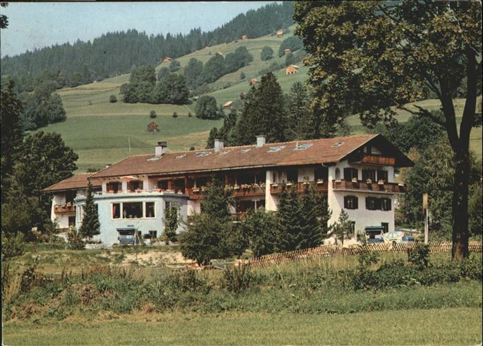 Hindelang Alptenkurhaus Wechs / Bad Hindelang /Oberallgaeu LKR