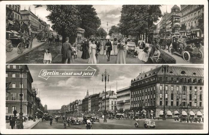 Berlin einst und jetzt / Berlin /Berlin Stadtkreis