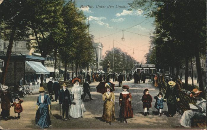 Berlin Unter den Linden / Berlin /Berlin Stadtkreis