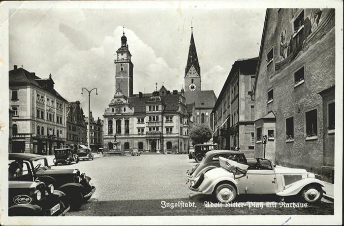 Ingolstadt Donau Rathaus / Ingolstadt /Ingolstadt Stadtkreis